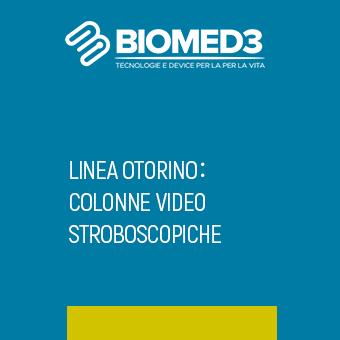 LINEA OTORINO: COLONNE VIDEO STROBOSCOPICHE